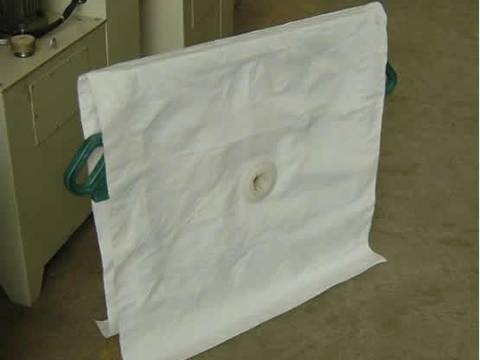 Polypropylene filter cloth available for frame and filter plate for solid-liquid separation